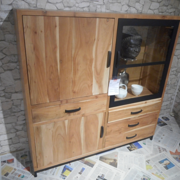 Massivholz Highboard Möbel Graf