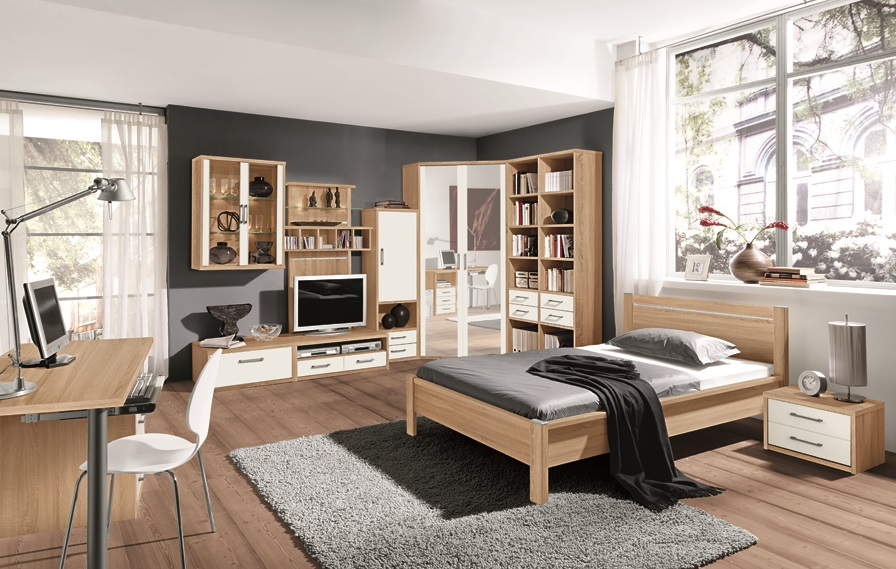 jugendzimmer m bel graf. Black Bedroom Furniture Sets. Home Design Ideas