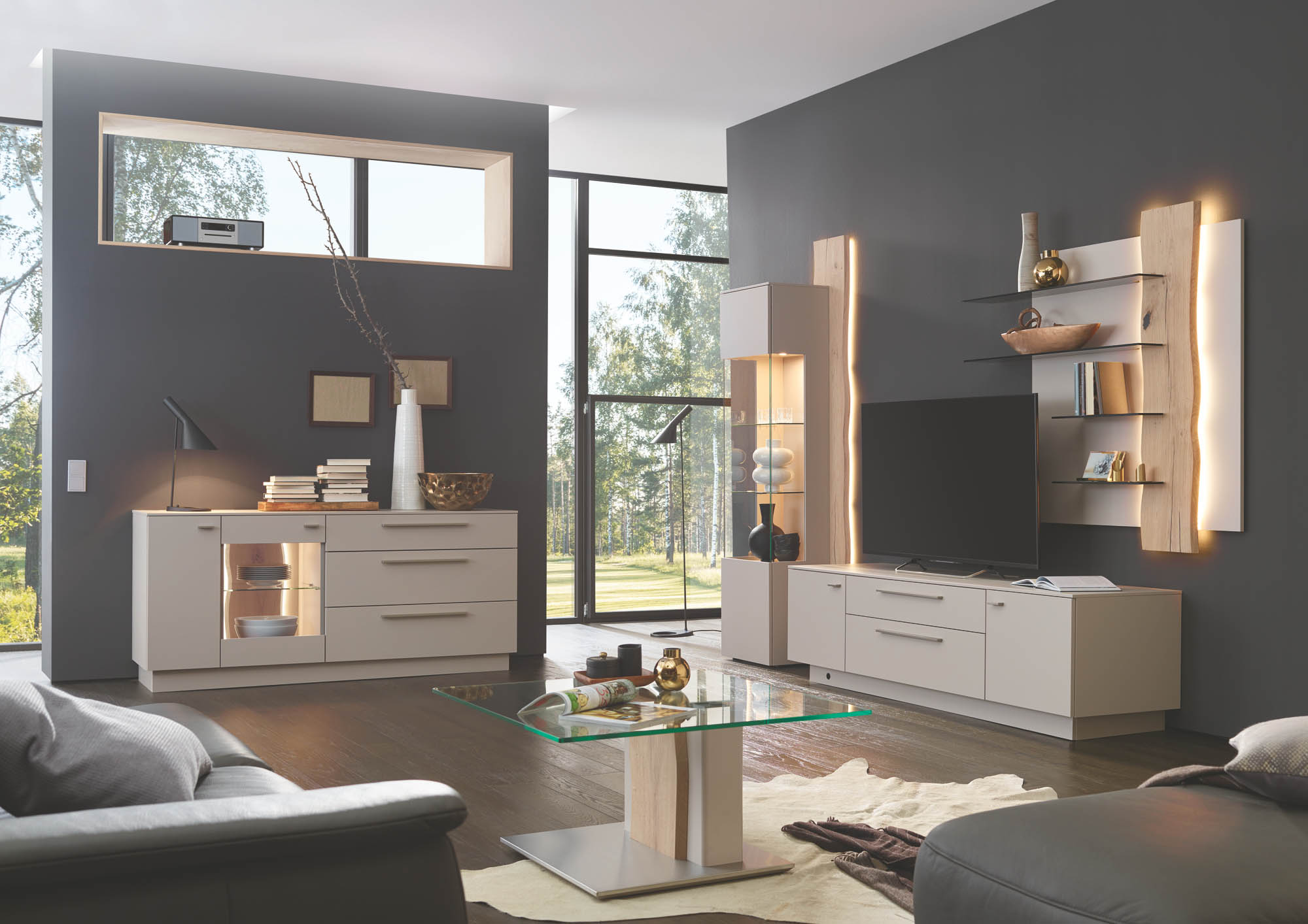 schr nke und wohnw nde m bel graf. Black Bedroom Furniture Sets. Home Design Ideas